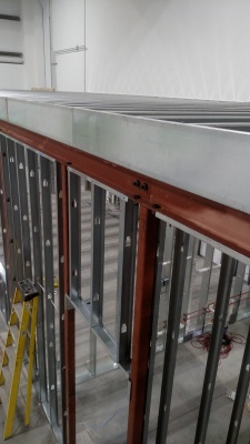 Structural steel framing: