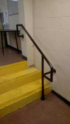Commercial railings: